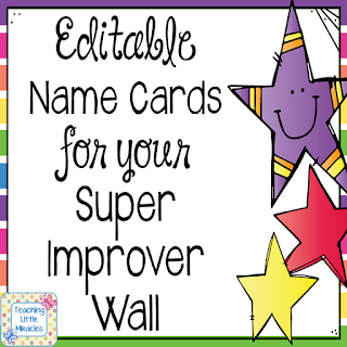 https://www.teacherspayteachers.com/Product/Editable-Super-Improver-Wall-Name-Cards-2652193