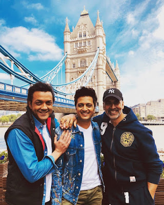 #instamag-riteish-deshmukh-akshay-kumar-bobby-deol-in-london-for-housefull4