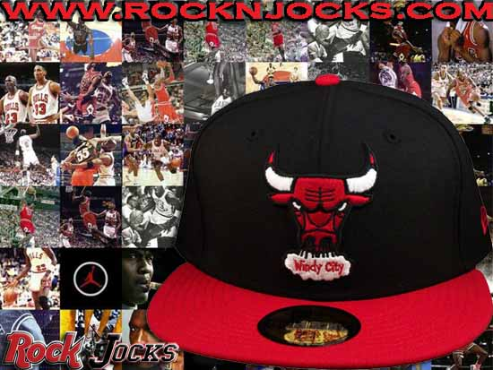 innovative design 46c72 33e43 ... is this custom Chicago Bulls New Era 59Fifty fitted. This was designed  to be a perfect match for countless pairs of Red and Black Jordan kicks.