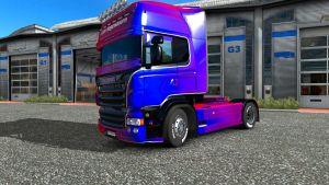 Leon Hogendoorn skin for Scania RJL