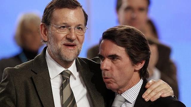 """Aznar y Rajoy  testigos en el juicio de la """"caja b"""" del Partido Popular"""