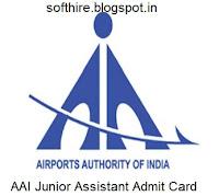 AAI Junior Executive Admit Card
