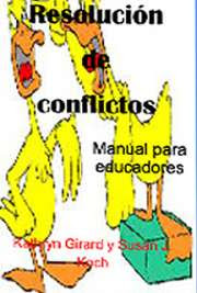 Resolución de Conflictos. Manual para Educadores