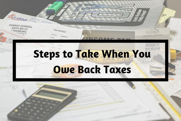 Steps to Take When You Owe Back Taxes