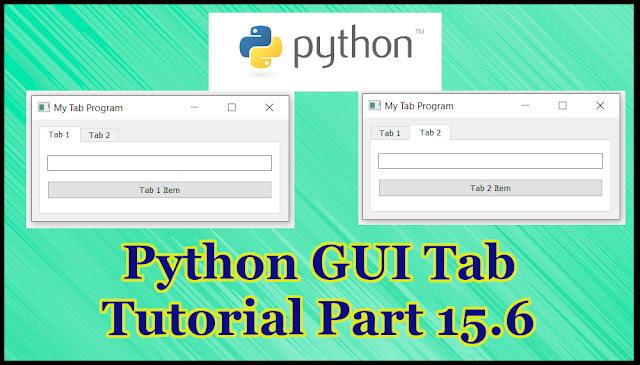 Python GUI Tab Tutorial Part 15.6