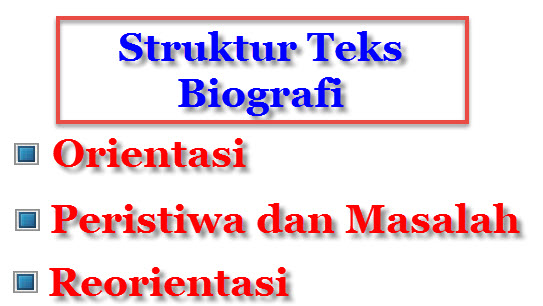 struktur teks
