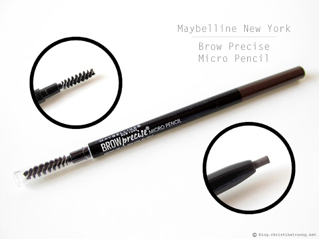 Maybelline New York Brow Precise Micro Pencil in Deep Brown Review