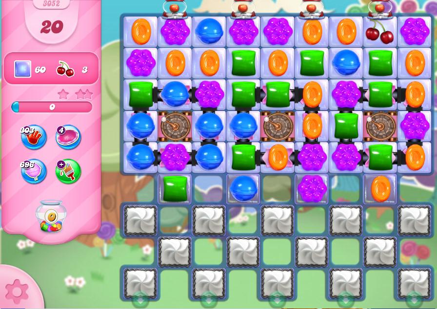 Candy Crush Saga level 3052