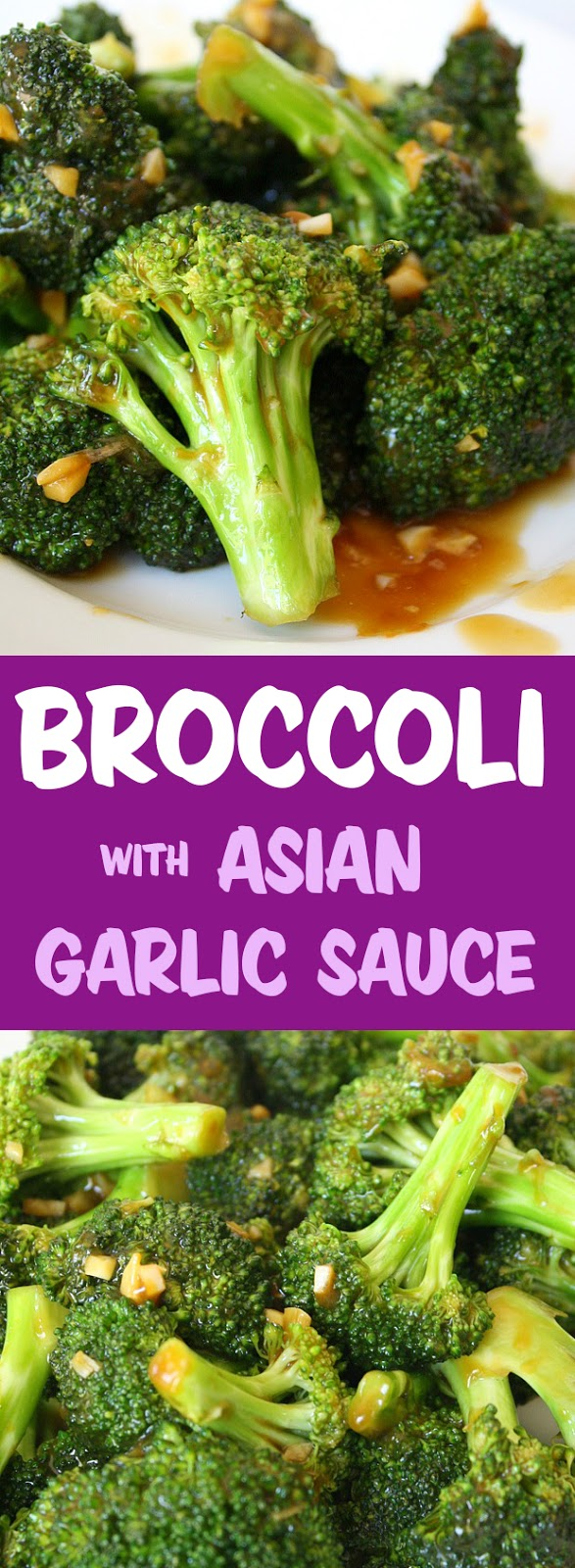 Recipe asian garlic brocolli