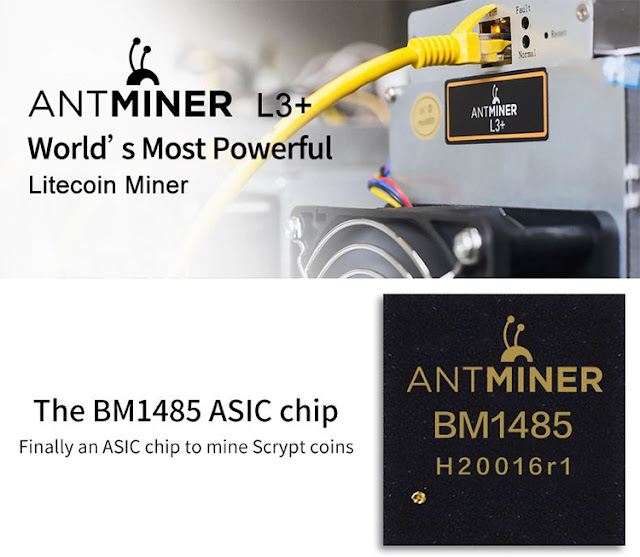 Bitmain Antminer L3+ 504mh L3++ 580mh With Power Supply PSU 504m 580m new used LTC Litecoin miner mining Asic Blockchain Miners