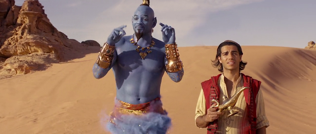 Aladdin (2019) Dual Audio [Hindi-Cleaned] 720p BluRay ESubs Download