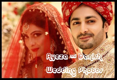 Ayeza Khan & Danish Taimoor Wedding