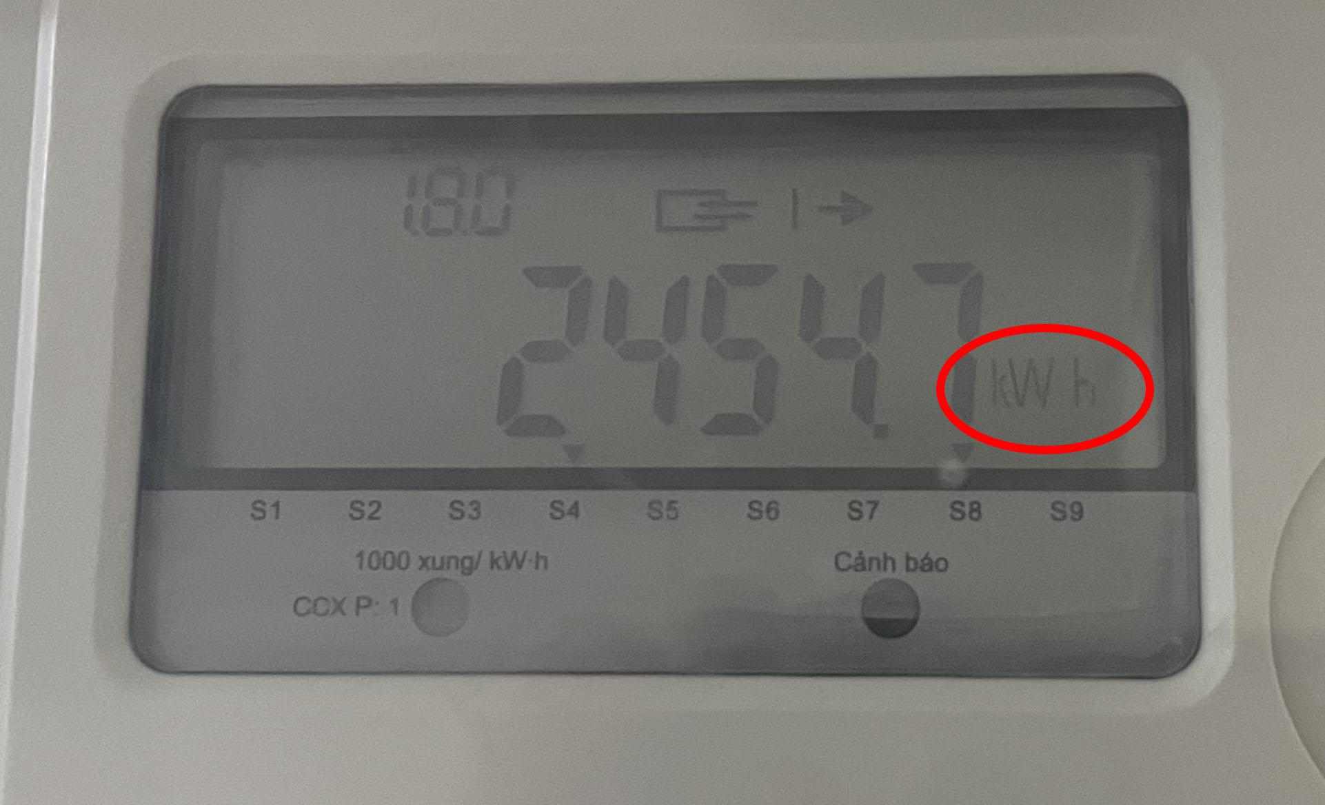 Cách đọc chỉ số đồng hồ điện tử
