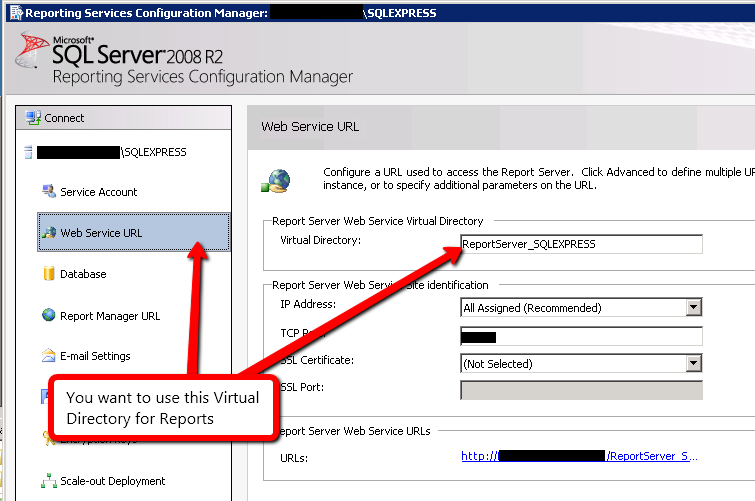 The attempt to connect to the report server failed  | The ASP NET Forums