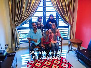Warih-Homestay-Pn-Zaiton-Sekeluarga