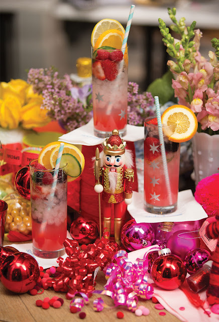 holiday drinks inspiration bar