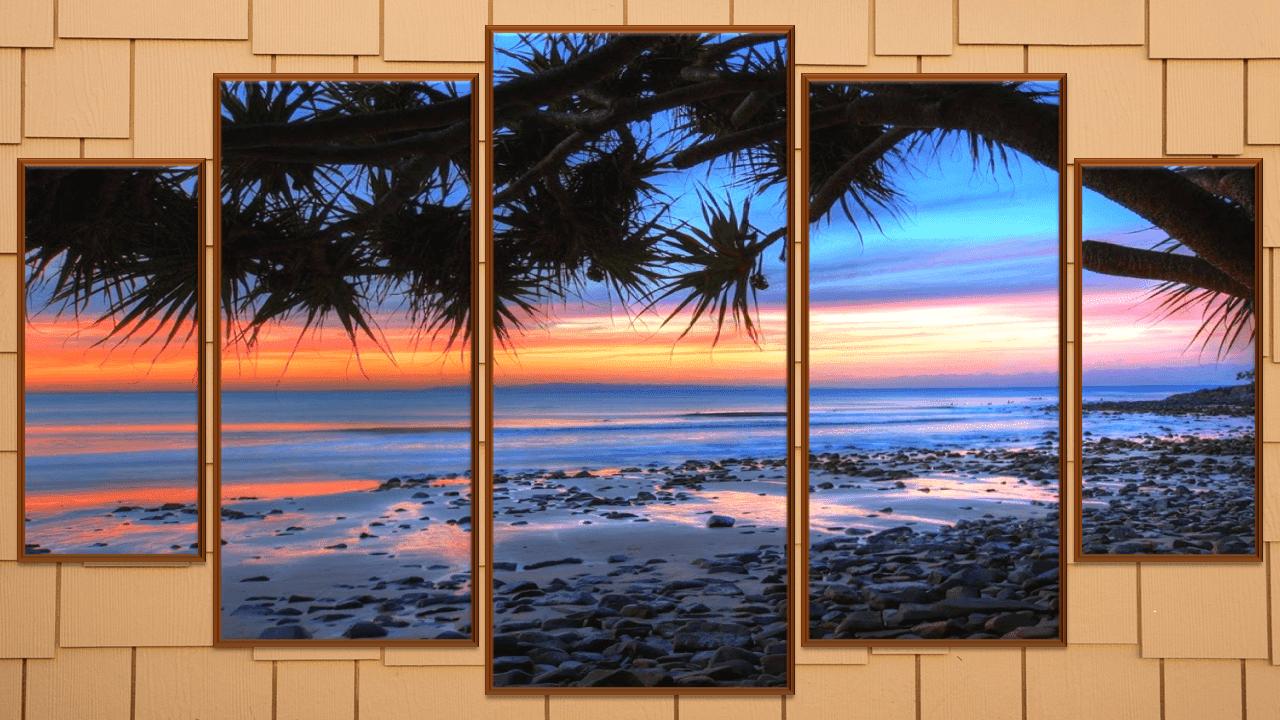 تصميم صور مقسمة  لتزيين الغرف