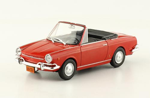 Fiat 800 Spider autos inolvidables