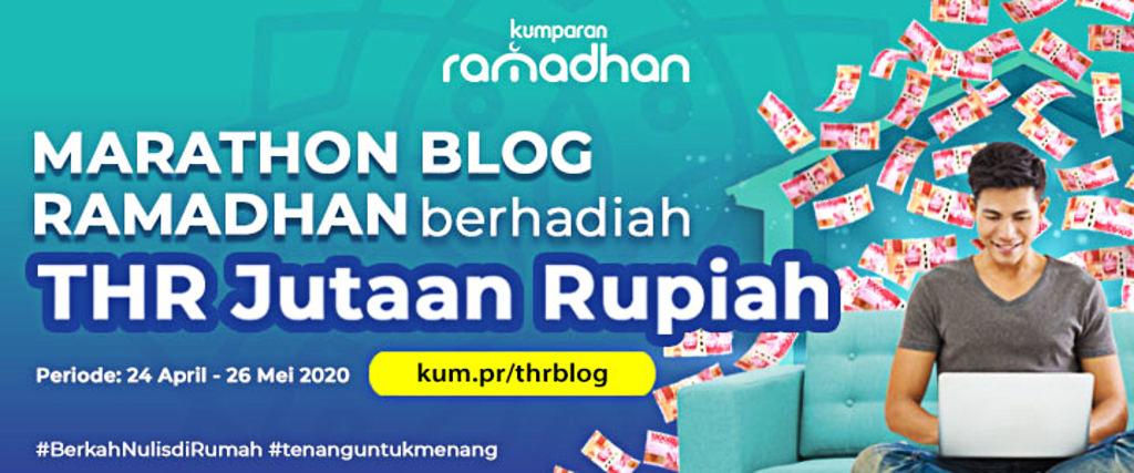 Marathon Blog Ramadhan