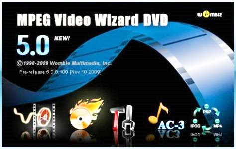 Womble mpeg video wizard dvd 5.0
