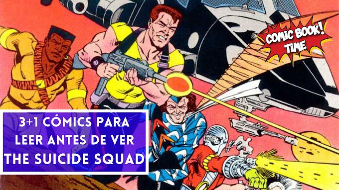 3 + 1 cómics del Escuadrón Suicida para leer antes de ver The Suicide Squad
