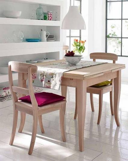 Narrow Dining Room Table Ideas 1
