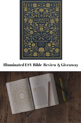 Illuminated ESV Bible Review & Giveaway, bible, study, journaling, verses, reading, for women, lessons, highlighting