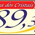 A Rádio Serra dos Cristais FM de Cristalina Goiás, estreia em caráter definitivo na segunda-feira, 13 de julho de 2020