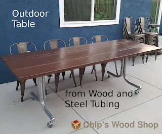 https://www.instructables.com/id/Outdoor-Table-From-Wood-and-Steel-Tubing/