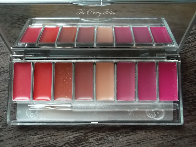 wardah lip palette pinky peach review