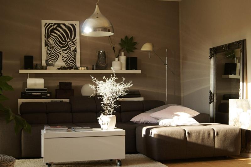 Blog + Fotografie by it's me! - Rooming, dekoriertes Wohnzimmer im Sonnenschein