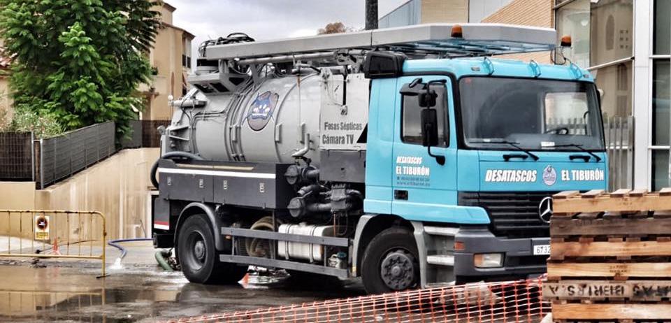 desatascos camiones cuba Alicante