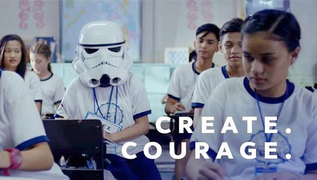 Globe Create Courage viral video