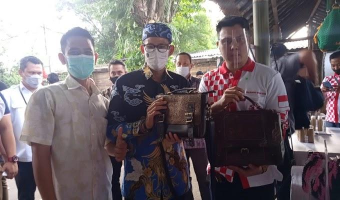 Solmet hadiri Pertemuan Palaku Usaha Pariwisata dan Ekonomi Kreatif bersama Menparkraf Sandiaga Uno di Cirebon