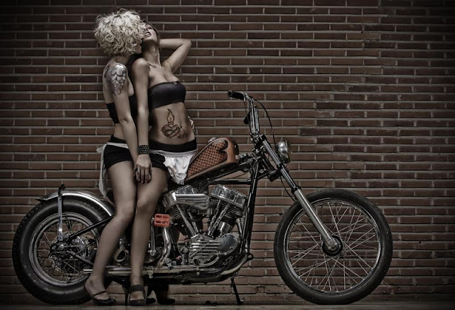 Harley Davidson Panhead 1950 By Ace Of Spades Choppers Hell Kustom