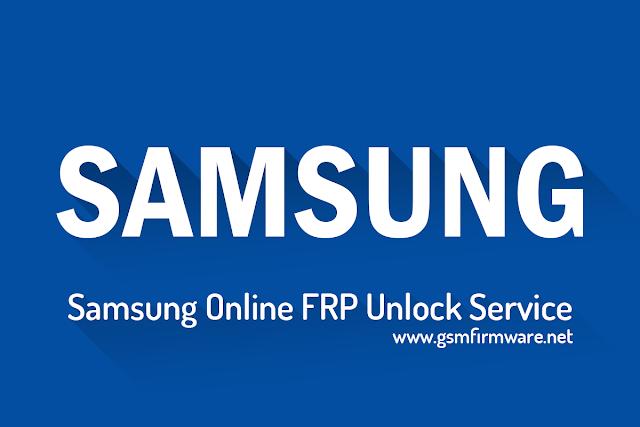 Samsung Online FRP Unlock Service [Remotely]