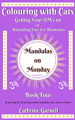 Book Four Cover Mandalas on Mondays ©BionicBasil® getting your Om on! Unleash Your Zen Harmonies