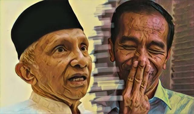 Tak bisa Mengelak lagi, Ini Segudang Alasan Amien Rais harusnya Minta Maaf ke Presiden Jokowi
