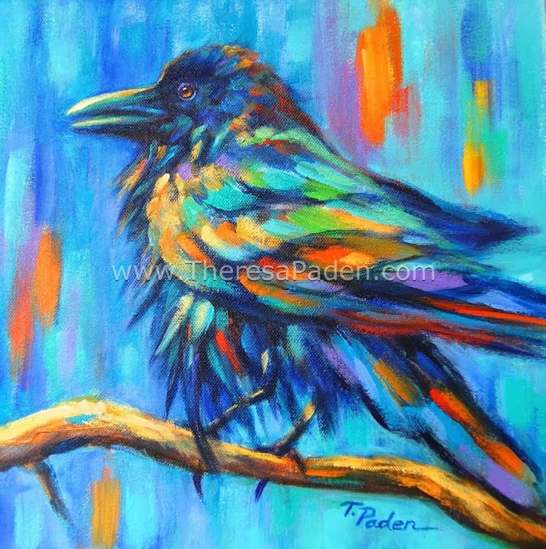 paintings by theresa paden colorful bird paintings wildlife art by