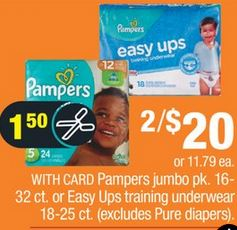Pampers CVS Coupon Deal $2.41 10/27-11/2
