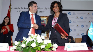 توقيع مذكرتي تفاهم بين وزارة أمزازي وHP لتعزيز التعاون في مجال تكنولوجيا الإعلام والاتصال