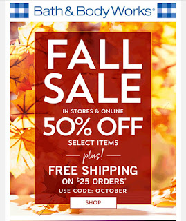 Bath & Body Works | Today's Email - October 21, 2019