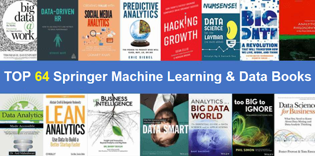 Free Download Springer 64 Machine Learning and Data Science Books