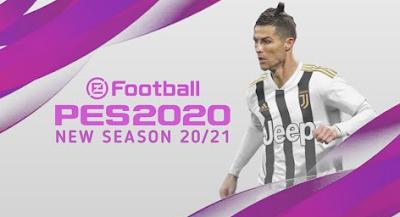 Texture eFootball PES 2020 Lite Update 20-21