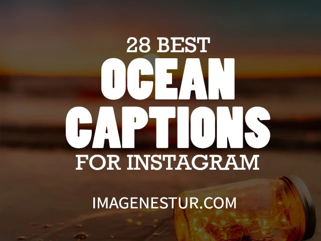 Ocean Caption for Instagram 2020 - sand and water