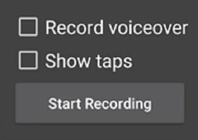 كيفية تمكين مسجل الشاشة المخفي في خيارات لقطة شاشة Android 10