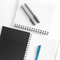 writing and notebooks