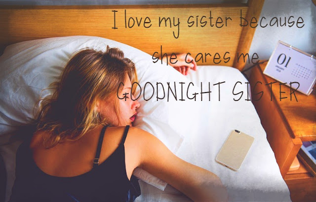 Good Night Wishes Images for Sister