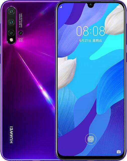 Huawei nova 5 Purple