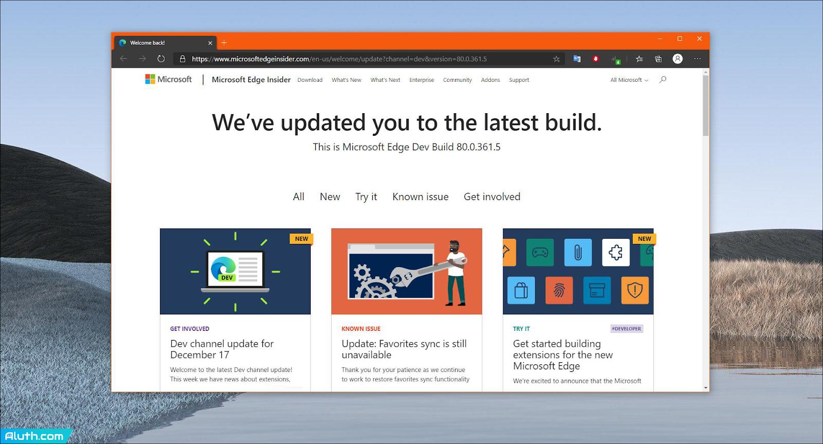 Microsoft's Edge Chromium browser will launch in January 2020.